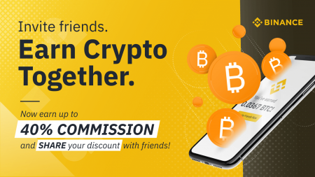 Binance Referral Program Promotion - Up to 40% Referral Rate