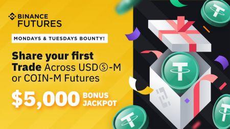 Binance Futures Launches Mondays & Tuesdays Bounty Promotion - 5,000 USDT
