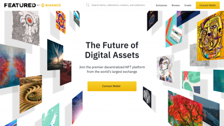 """Introducing """"Featured by Binance"""": A Decentralized NFT Platform From Binance"""