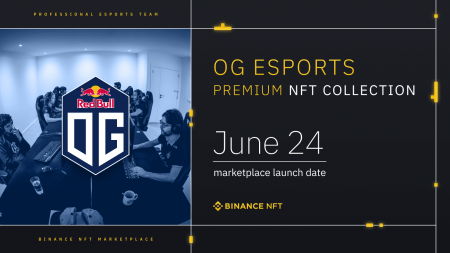 Binance NFT Marketplace Reveals The First Premium ESports Creator: OG ESports