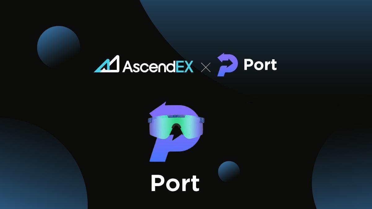AscendEX Launches Port Finance (PORT) Pre-Staking - 100% Est. APR