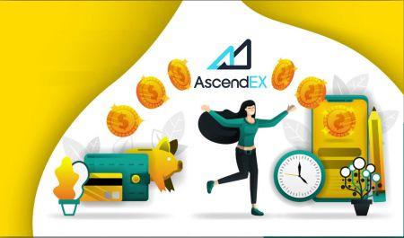 كيفية تسجيل الدخول وسحب العملات المشفرة من AscendEX