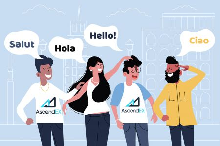 دعم AscendEX متعدد اللغات