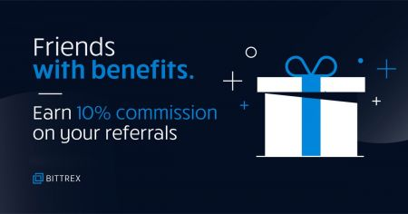 Bittrex Referral Program Promotion - 10% on All Commission