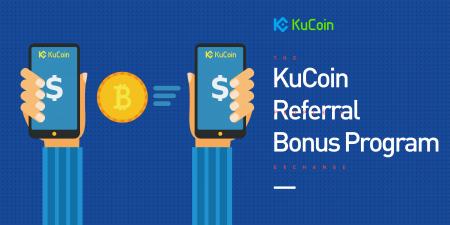 KuCoin Referral Program - Up to 20% Bonus on each order