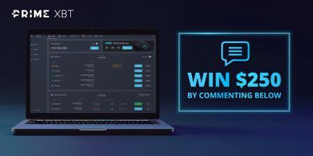 PrimeXPT Twitter Promotion - $250 USDT Giveaway