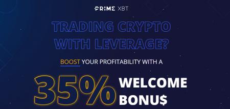 PrimeXBT Welcome Bonus - 35% Discount