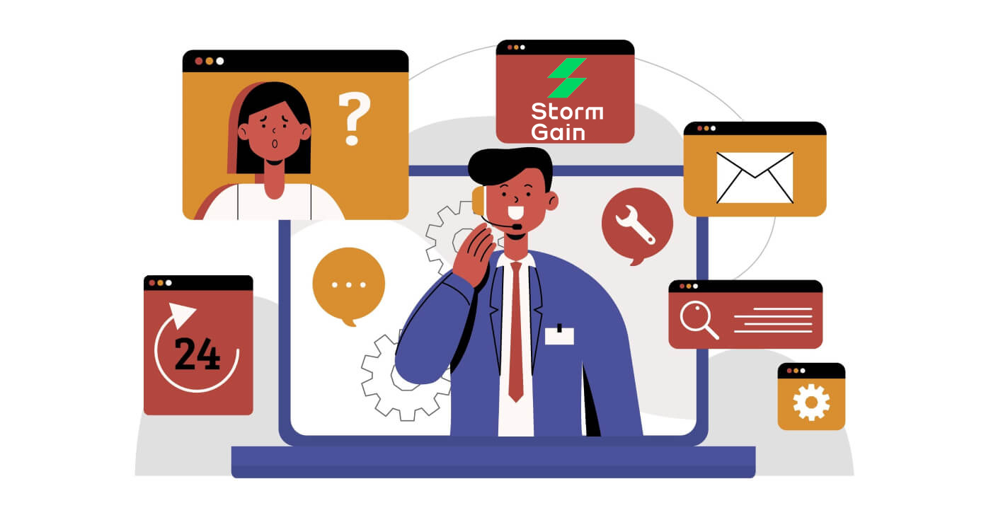 How to Contact StormGain Support