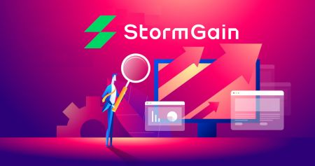 How to Trade Cryptocurrency in StormGain
